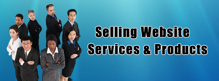Selling Website Services & Products