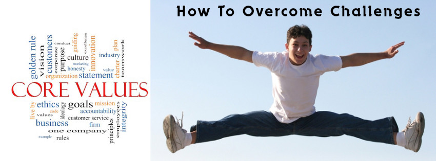 HOW TO OVERCOME CHALLENGES