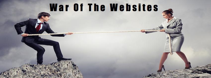 War Of The Websites